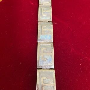 CLEARANCE Vintage Mexican Silver Bracelet